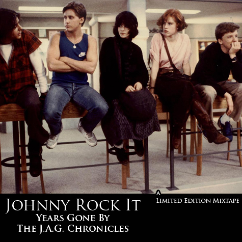 """Years Gone By"" by Hip-Hop artist Johnny Rock It front cover"