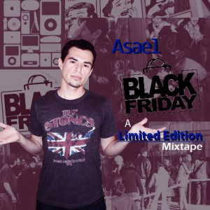 Front Cover Black Friday mixtape by Asael